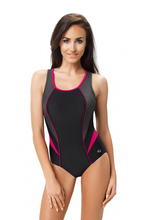 Dámské sportovní plavky Ivana I - černá