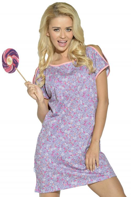 Dámská noční košile Lidie - fialová