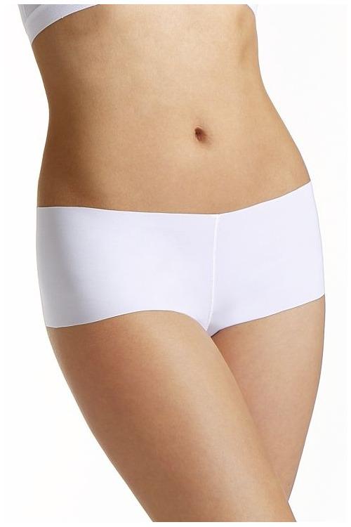 Bezešvé francouzské kalhotky Sofia bílé - bílá