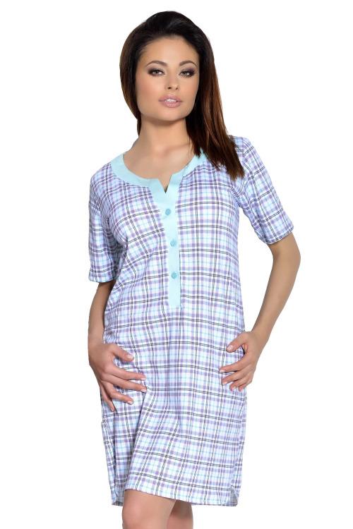 Dámská noční košile Marcela mint - tyrkysová